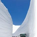 黒部アルペンルートで雪の大谷が見たい!いつ?行き方は?服装は?