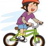 4歳児に自転車のプレゼント!サイズや重さの選び方について