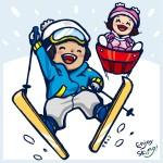 こどものスキーの服装インナーや手袋の選び方!寒さ対策の持ち物
