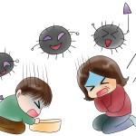 幼児のロタウイルスの症状は?何度もかかるもの?感染経路は?