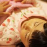 冬赤ちゃんが布団から出るときエアコンつけっぱなし?寝相が悪い対策