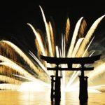 宮島水中花火大会はどこで見る?宮島、遊覧船、ホテル?地元情報満載!